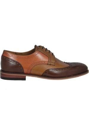 Lacuzzo Men Brogues - C Contrast Panel Brogue Shoe 6