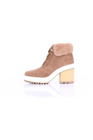 Hogan Ankle boots in camel color