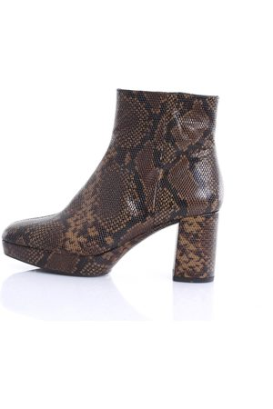 Unisa Ankle boot in python leather