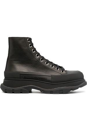 Alexander McQueen Tread Ankle Boots