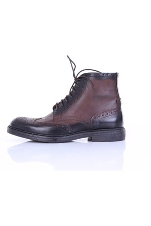 Mino Ronzoni Ankle boot in dark leather