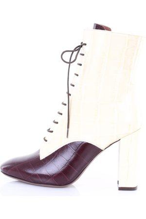L' Autre Chose L'AUTRECHOSE Boots boots Women Ivory and burgundy