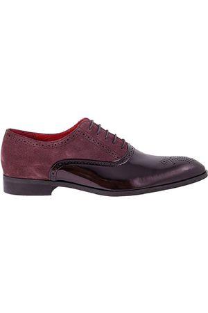 Lacuzzo C Contrast Claret Brogue Claret Shoe 6