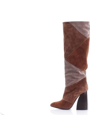 PH 5.5 Boots Under the knee Women Beige and camel