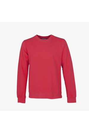 Colorful Standard Men's Classic Organic Crew Scarlet Red