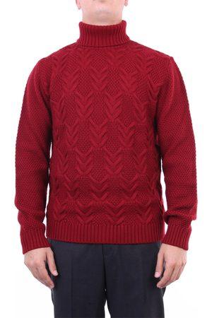 Heritage Knitwear High Neck Men Bordeaux