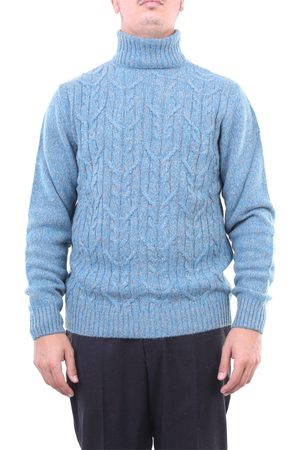 Halston Heritage Knitwear High Neck Men and gray
