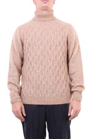 Halston Heritage Knitwear High Neck Men Sand