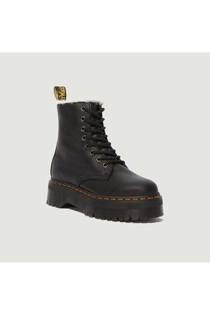 Dr Martens Jadon lined platform leather boots Pisa > natural EM Toby 900g Dr. Martens