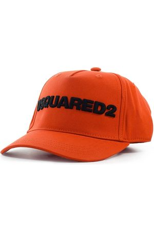 Dsquared2 D2 LOGO BRICK RED BLACK BASEBALL CAP
