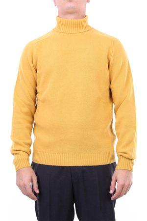 Halston Heritage Knitwear High Neck Men Ocher