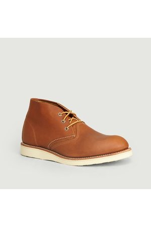 Red Wing Work Chukka Oro-iginal Camel Boots Camel Shoes