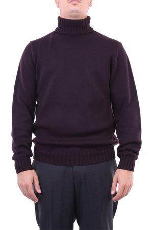 Heritage Knitwear High Neck Men Burgundy