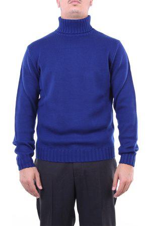 Heritage Knitwear High Neck Men Bluette