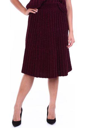 L' Autre Chose L'AUTRECHOSE Skirts Midi Women Bordeaux
