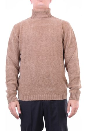Halston Heritage Men Sweaters - Knitwear High Neck Men Camel