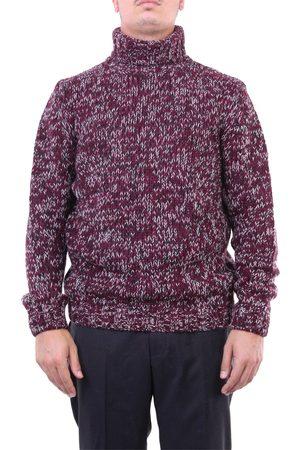 Heritage Knitwear High Neck Men Violet