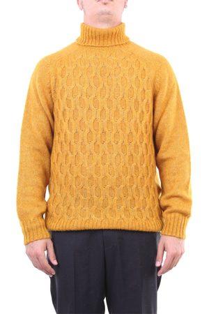 Heritage Knitwear High Neck Men Mustard