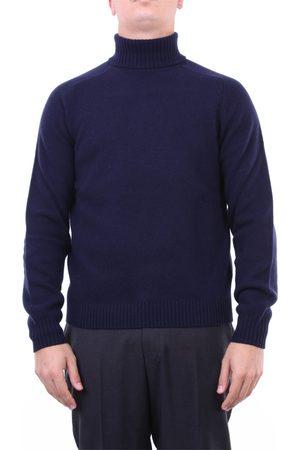 Heritage Knitwear High Neck Men Navy