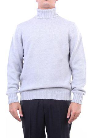 Heritage Knitwear High Neck Men Light grey