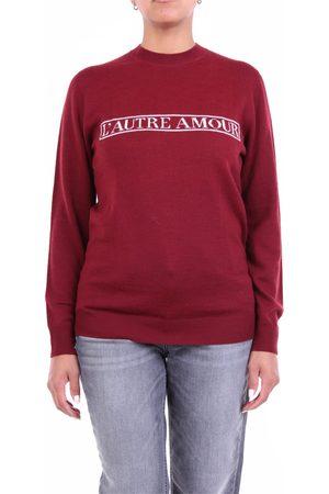 L' Autre Chose Women Sweatshirts - L'AUTRECHOSE Knitwear Crewneck Women Bordeaux