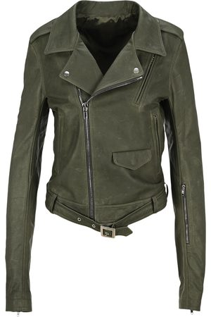 Rick Owens Leather Lukes biker jacket