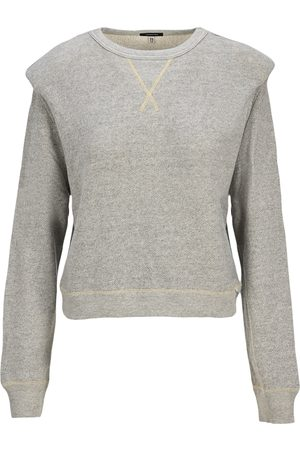 R13 Folded shoulder sweatshirt