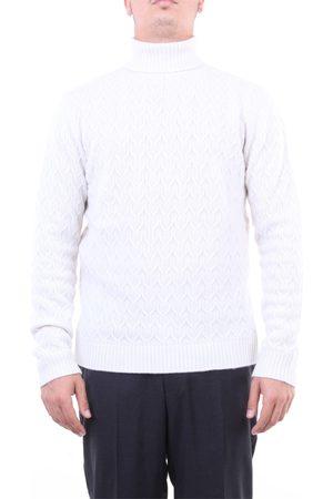 Heritage Knitwear High Neck Men Ecru