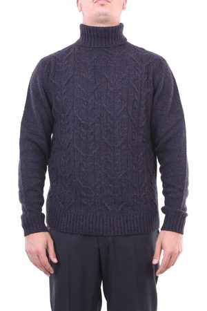 Halston Heritage Knitwear High Neck Men and brown