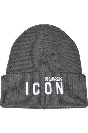 Dsquared2 Hats Grey