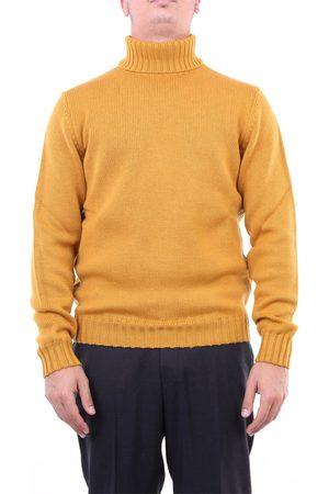 Halston Heritage Knitwear High Neck Men Mustard