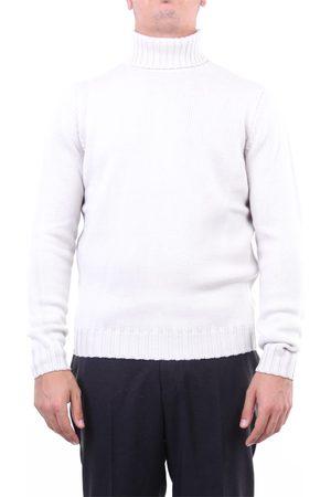 Halston Heritage Men Sweaters - Knitwear High Neck Men Plaster