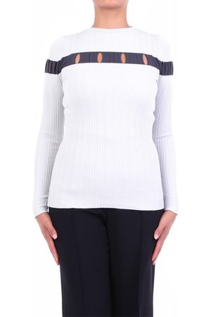 SIMONA CORSELLINI Women Sweatshirts - Knitwear Crewneck Women Ice