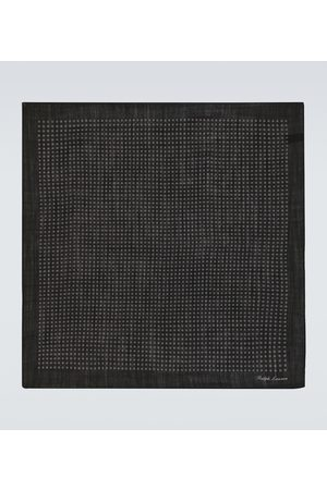 Ralph Lauren Men Pocket Squares - Printed wool pocket square