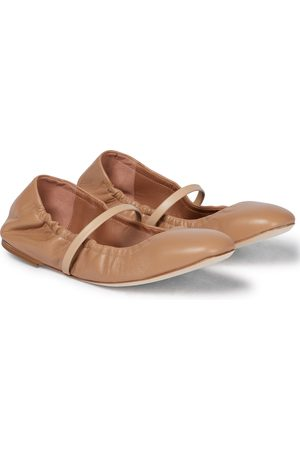 MALONE SOULIERS Cher leather ballet flats