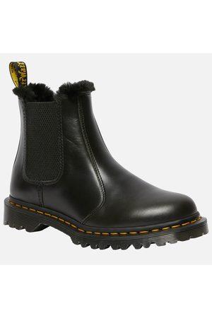 Dr. Martens Women Chelsea Boots - Women's 2976 Leonore Fur Lined Leather Chelsea Boots