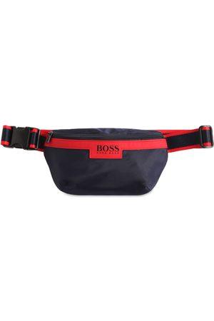 HUGO BOSS Logo Print Nylon Belt Bag