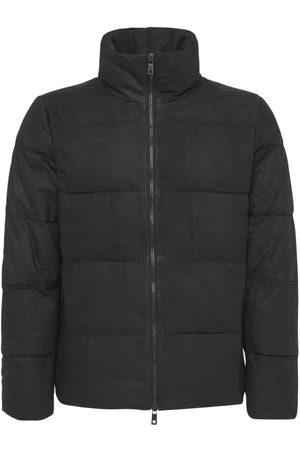 GIORGIO BRATO Padded Leather Jacket