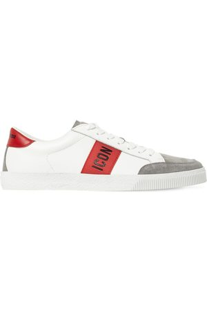 Dsquared2 Icon Cassetta Leather Sneakers