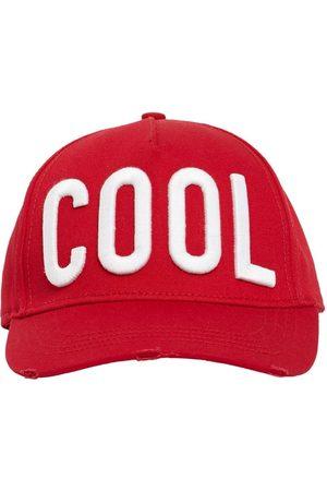 Dsquared2 Cool Patch Cotton Gabardine Cap