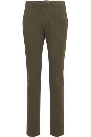 Loro Piana 18cm Soft Stretch Cotton Pants