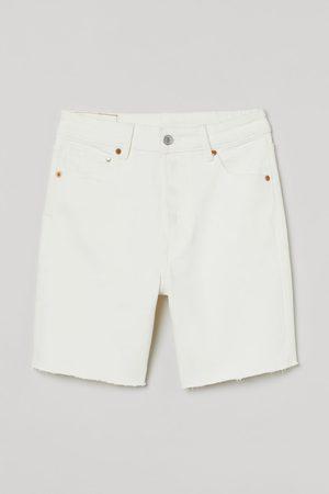 H&M Women Bermudas - Denim Bermuda Shorts