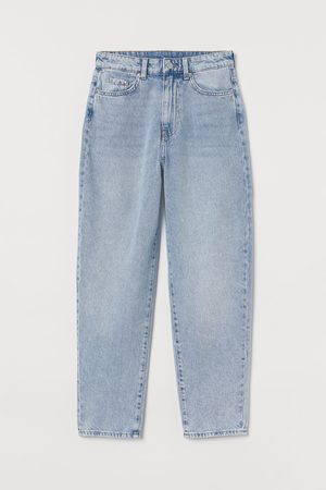 H & M Mom Loose-fit Ultra High Jeans
