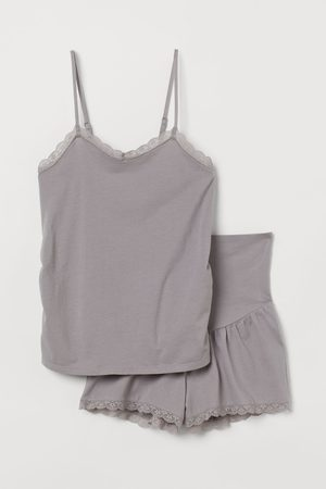H&M Women Pajamas - MAMA Cotton Jersey Pajamas