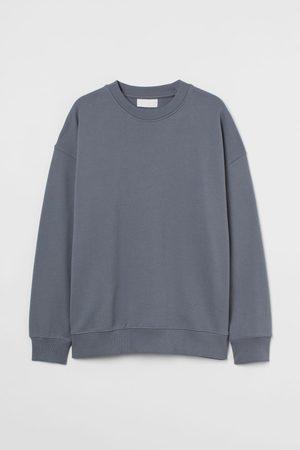 H&M Men Sweatshirts - Cotton Sweatshirt