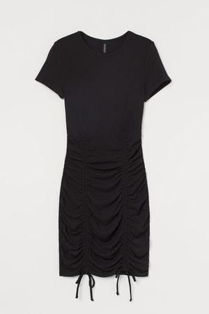 H&M Women Bodycon Dresses - Drawstring Dress