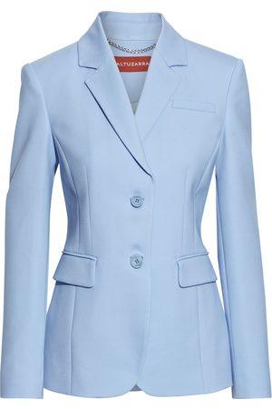 Altuzarra Women Blazers - Woman Wool-blend Grain De Poudre Blazer Sky Size 38