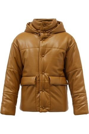 Nanushka Hide Quilted Faux-leather Coat - Mens