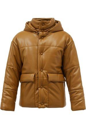 Nanushka Men Leather Jackets - Hide Quilted Faux-leather Coat - Mens