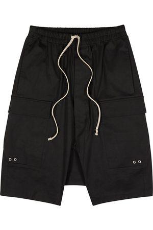 Rick Owens Stretch-cotton cargo shorts